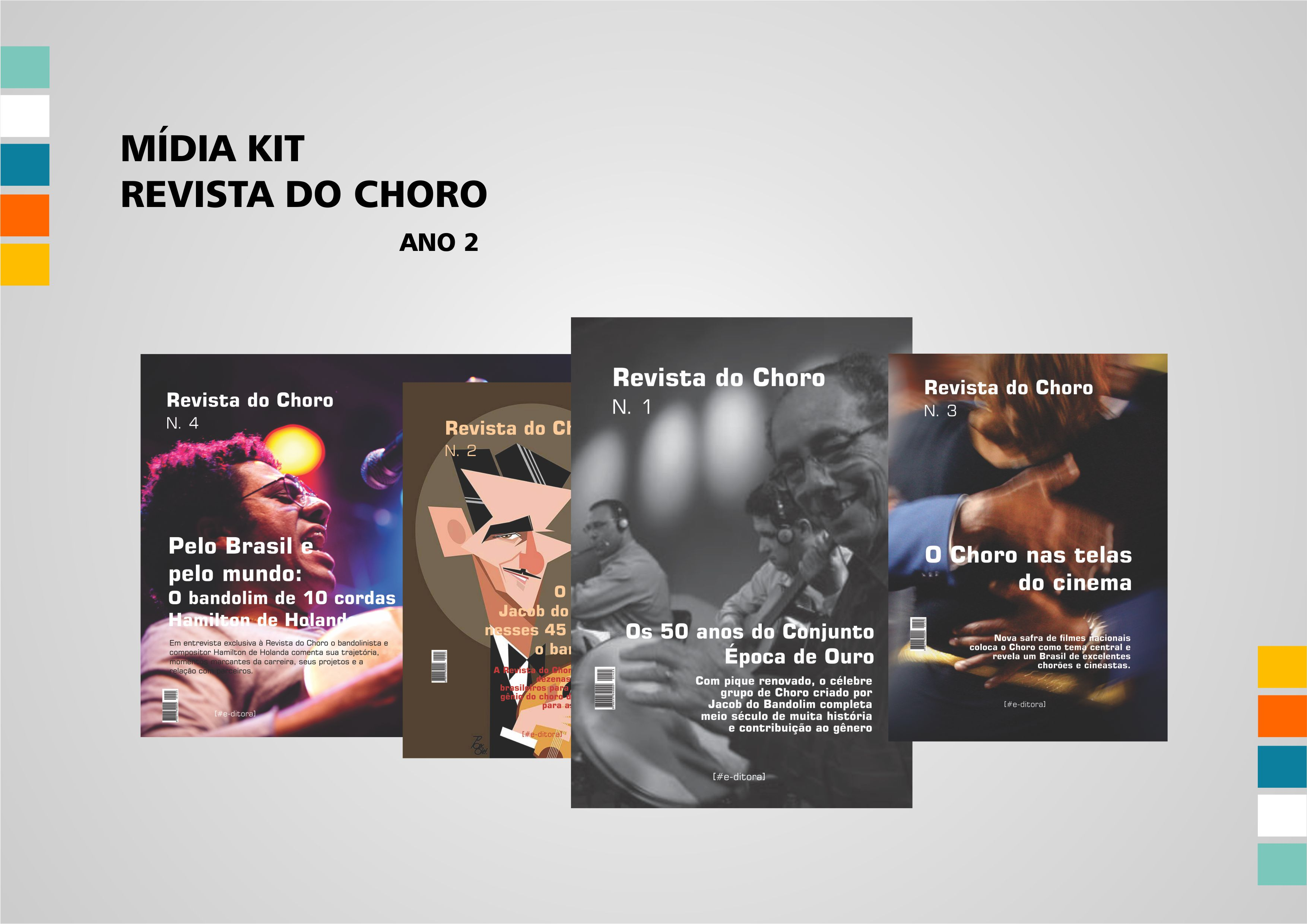 Mídia Kit Revista do choro 2015